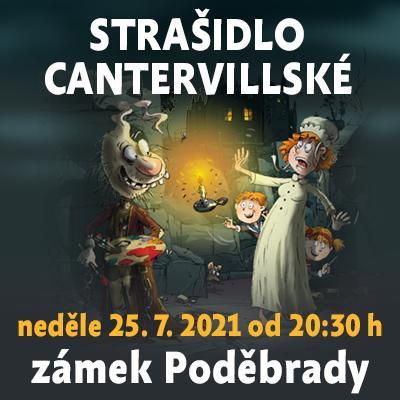 Strašidlo cantervillské / zámek Poděbrady 25. 07. 2021
