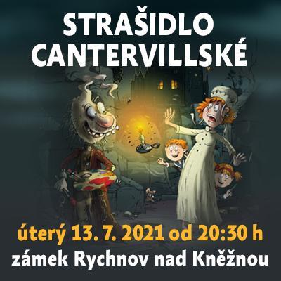 Strašidlo cantervillské / zámek Rychnov nad Kněžnou 13. 07. 2021