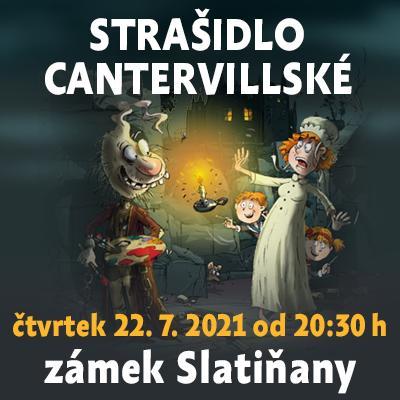 Strašidlo cantervillské / Státní zámek Slatiňany 22. 07. 2021