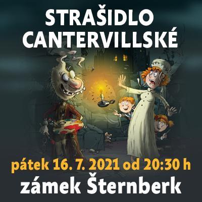 Strašidlo cantervillské / Státní hrad Šternberk 16. 07. 2021