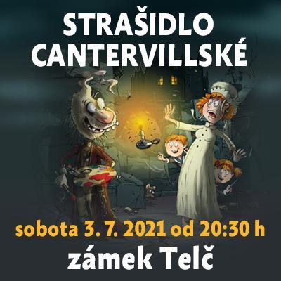 Strašidlo cantervillské / Státní zámek Telč 03. 07. 2021