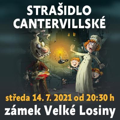Strašidlo cantervillské / Státní zámek Velké Losiny 14. 07. 2021