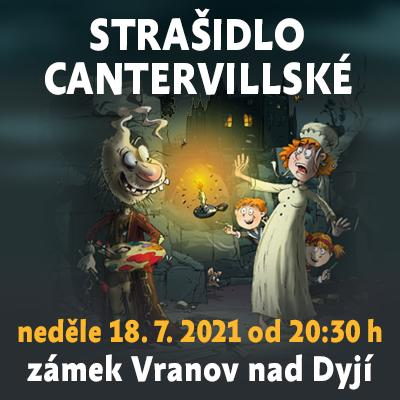 Strašidlo cantervillské / Státní zámek Vranov nad Dyjí 18. 07. 2021