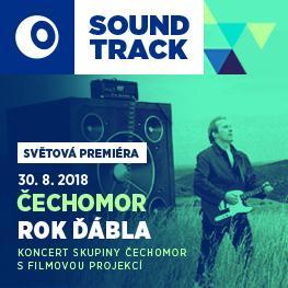 SOUNDTRACK Poděbrady 2018 <br>Čechomor: Rok ďábla <br>Světová premiéra koncertu skupiny Čechomor s filmovou velkoplošnou projekcí