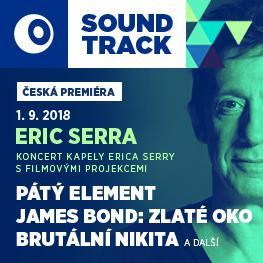 SOUNDTRACK Poděbrady 2018 <br>Pátý element, James Bond: Zlaté oko, Brutální Nikita <br>Eric Serra