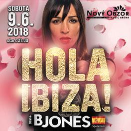 Hola IBIZA / B Jones (ESP) Vive ahora party MOST
