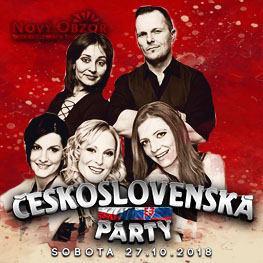 ČESKOSLOVENSKÁ PARTY / HOLKI / MC ERIK & IVANA <br> MOST