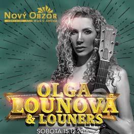 Olga Lounová & Louners <br> Jsem optimista Live!