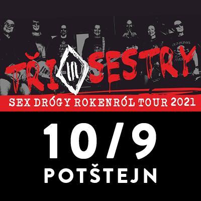 Tři sestry open air tour 2021 / Potštejn