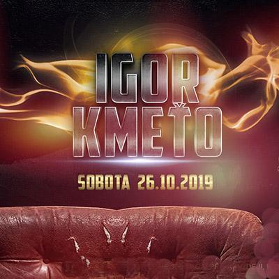 Igor Kmeťo 2019 tour Live!