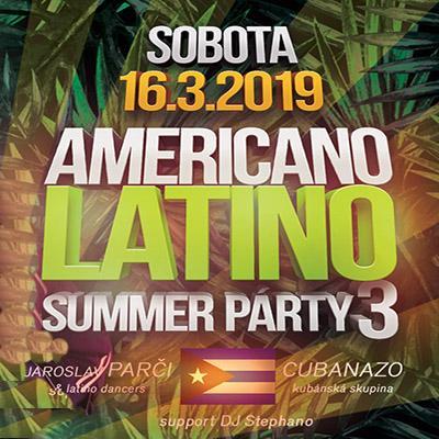 Americano Latino Summer party3 <br> Cubanazo & J.Parči