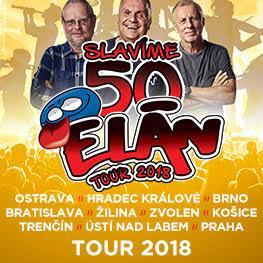 ELÁN 50 LET <br>TOUR 2018 Ostrava