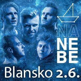 Nebe <br>Zámecký park Blansko