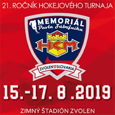 21. memoriál Pavla Zábojníka 15. - 17. 8. 2018