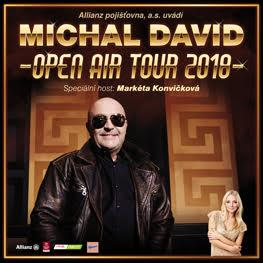 MICHAL DAVID <br>Open Air Tour 2018 <br>Moravské Budějovice