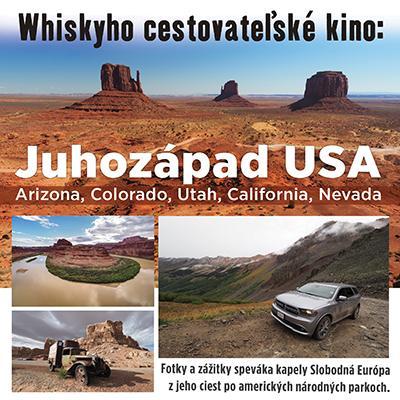 Whiskyho cestovateľské kino - Juhozápad USA