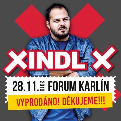 Xindl X Narozeninová oslava XL
