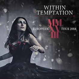 Within Temptation European Tour 2018 Praha