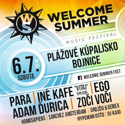 WELCOME SUMMER FEST 2019