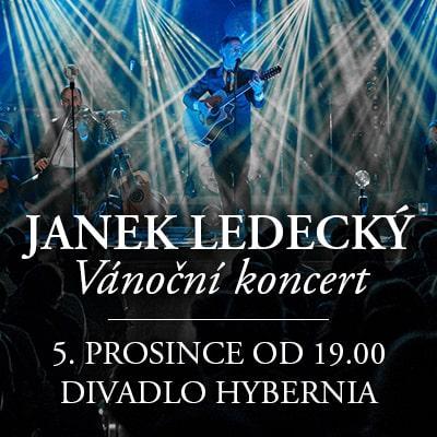 Janek Ledecký a Band / Vánoční koncert