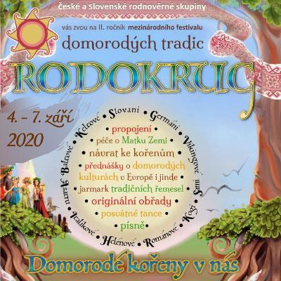 Mezinárodní festival domorodých tradic - RODOKRUG