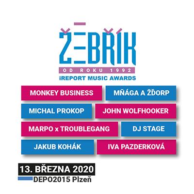 Hudební ceny Žebřík 2020