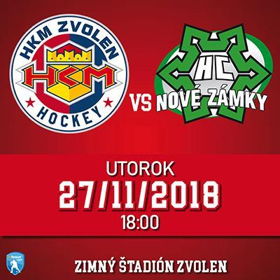 HKM Zvolen - HC Nové Zámky 27.11.2018